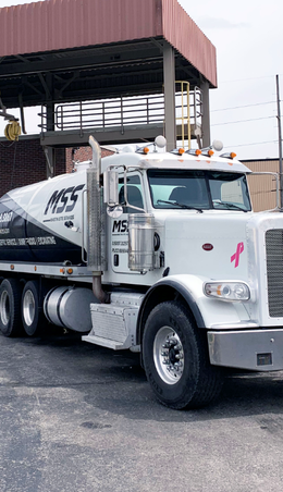 MSS Vac Truck at commercial client